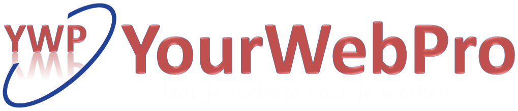 Logo van webdesign bureay YourWebPro.nl