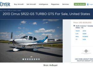 vliegtuigadvertentie van avbuyer.com
